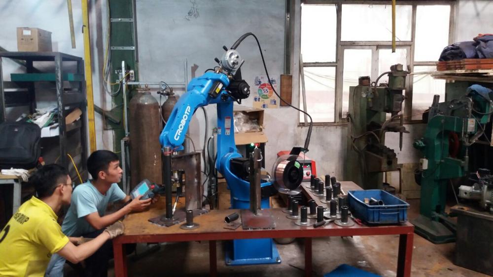 ROBOT HÀN ỐNG TRÒN